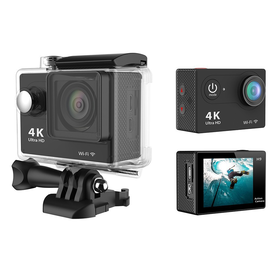 h9 4k sports and action camera shiningintl. Black Bedroom Furniture Sets. Home Design Ideas