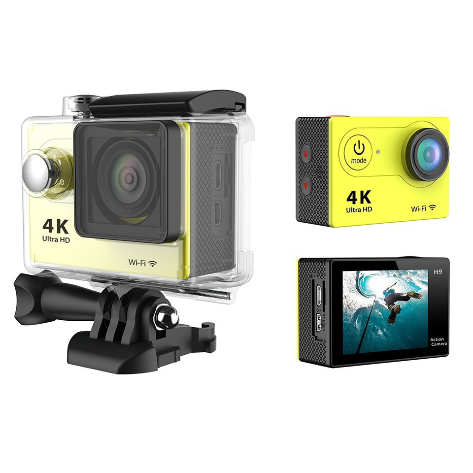 H9 4k Sports And Action Camera Shiningintl Sport Cam Full Hd With Remote