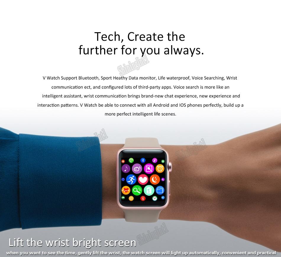 Bluetooth Smart Watch Iwo 2 11 Update Smartwatch Case For Apple Wime Shiningintl 2nd Gen
