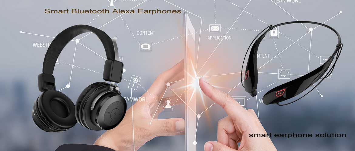 smart alexa earphone solution